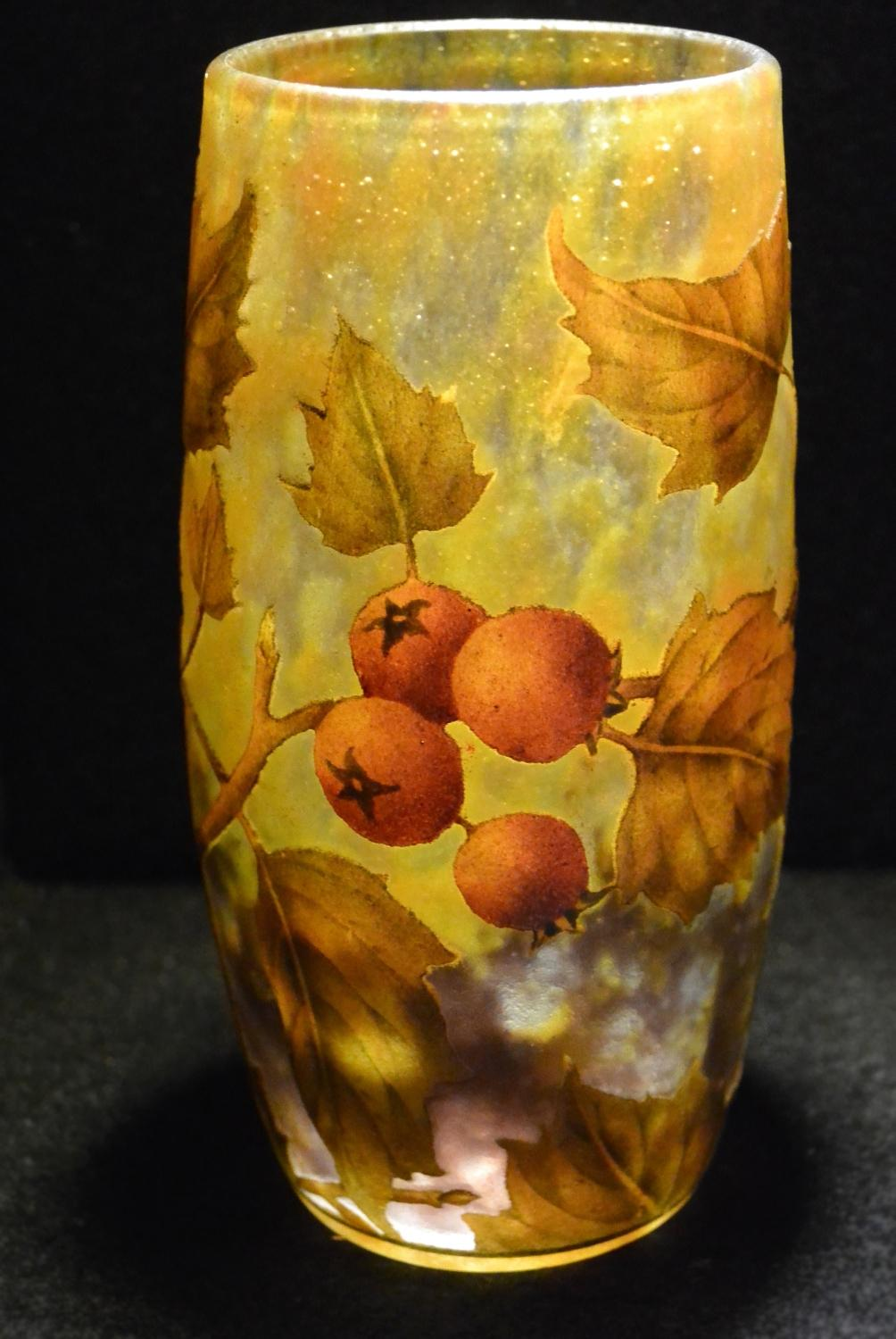 Daum Nancy – Art Nouveau etched vase