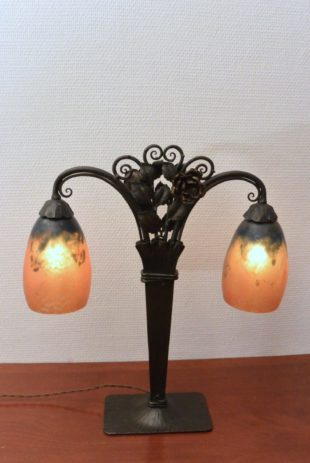 Daum Nancy - Table lamp with two shades