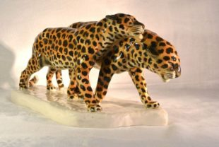 Etha Richter porcelain leopards
