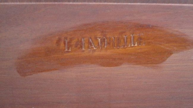 Louis Majorelle signature