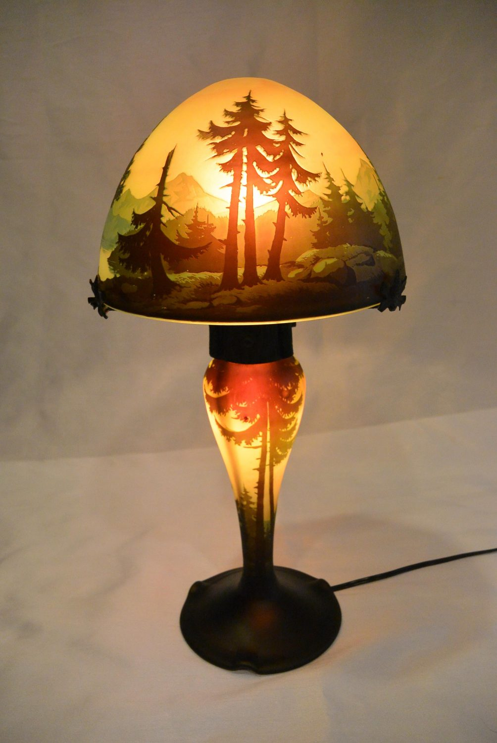 Muller Frères - Table lamp (1920)