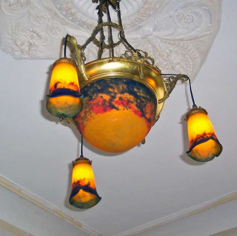 Muller Frères – Hanging lamp