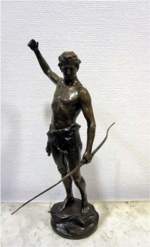 Rudolph Kuechler - Bronze warrior