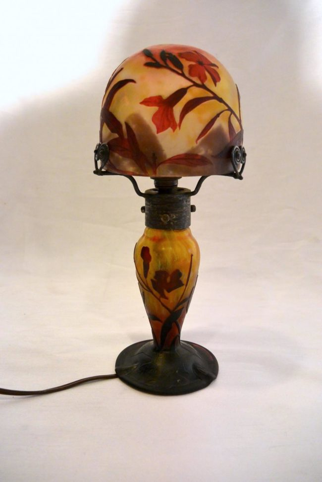 Table lamp Oleander - Daum Nancy